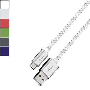 Hama COLOR LINE Cabo de alimentação micro-USB