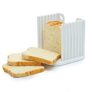 Kitchen Craft Caixa expansível para o pão com guia de corte