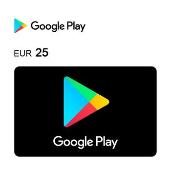 Cartão de Oferta da Google Play – Código Digital 25€