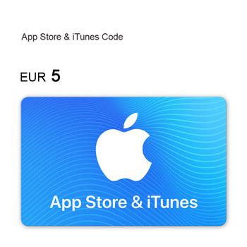 Cartão-oferta da App Store & iTunes: 5 €