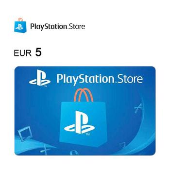 Cartão de Oferta da PlayStation®Store – Código Digital 5€