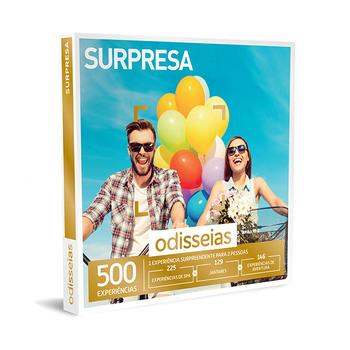 Surpresa − 500 Experiências