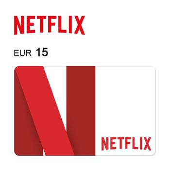 Cartão de Oferta da Netfilx – Código Digital 15€
