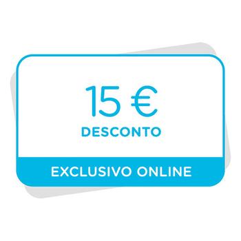 15€ de desconto numa compra de 50€ em www.dolce-gusto.pt