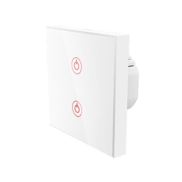 Interruptor de parede Wi-Fi Touch da Hama Imagem
