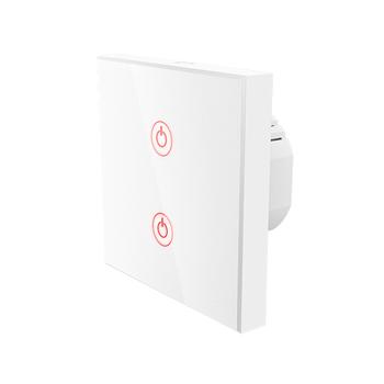 Interruptor de parede Wi-Fi Touch da Hama