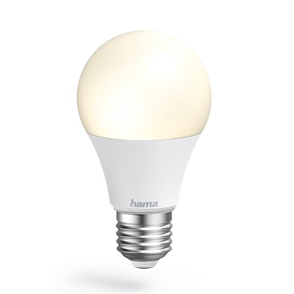 Lâmpada Wi-Fi LED da Hama − E27, 10W, branca Imagem