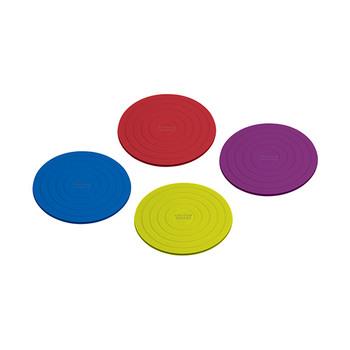 Bases de-copos redondas da Colourworks − conjunto de 4