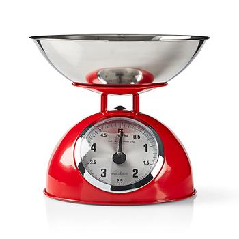 Balanças retro analógicas de cozinha da Nedis